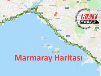 Marmaray Haritası