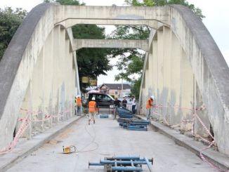 historic sakarya bridge is renewing