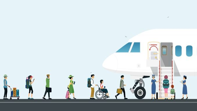 last year, the number of passengers using the airline increased to million