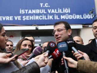 imamoglu kanal Istanbul ced report Izvršit ću svoje pravo na tužbu