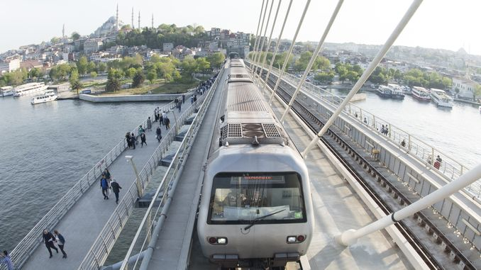 Halic Metro Bridge Bridge