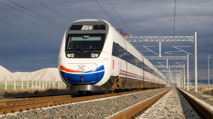 tender announcement ankara eskisehir yht line to be built with arch walls