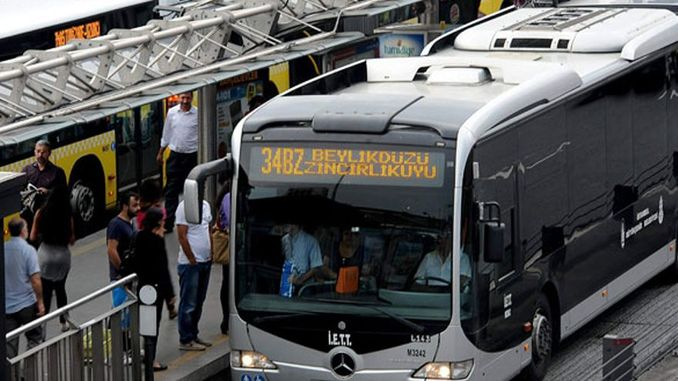 метробус пен қалалық автобустың тендерлік жарнамасы