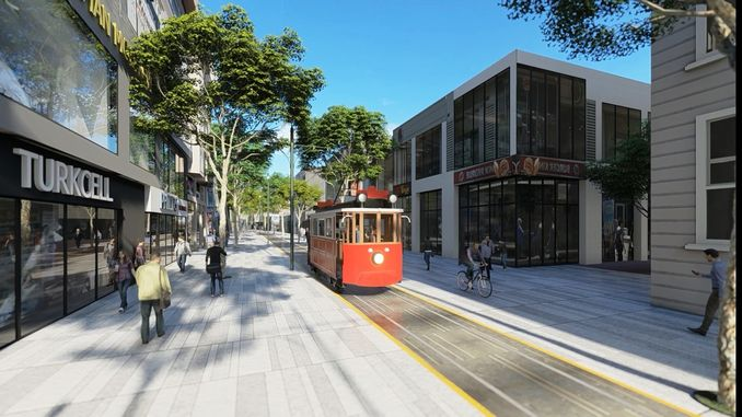 tender announcement will be made to sakarya nostalgic tram line