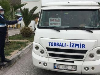 Terminalgebyr vil ikke blive taget fra minibushandlere i Izmir