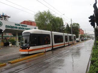 Prøvedrev startede på Eskisehirs nye sporvognslinjer