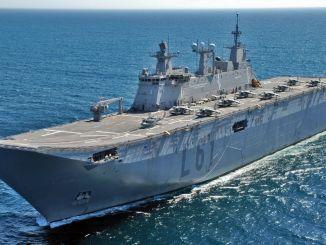 turkiyenin ilk ucak gemisi tcg anadoluda test sureci devam ediyor