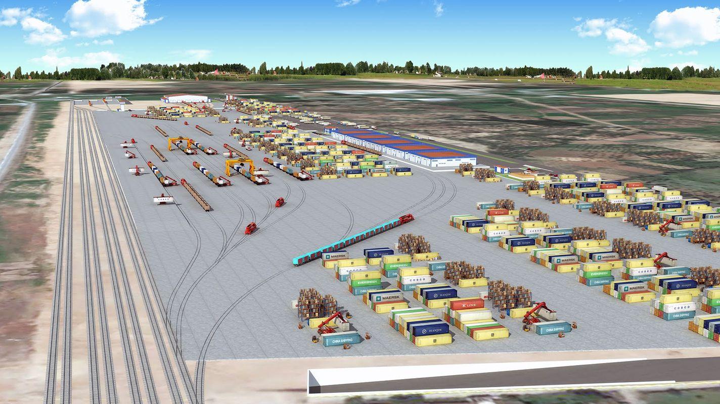 anuncio de licitación kemalpasa centro logístico sub y sub finalización de obras de construcción