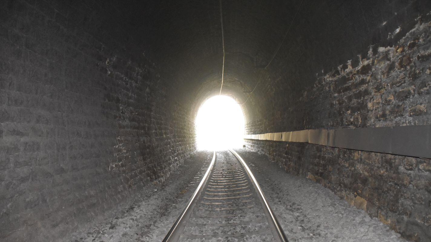 annonce de l'appel d'offres les travaux du tunnel seront réalisés