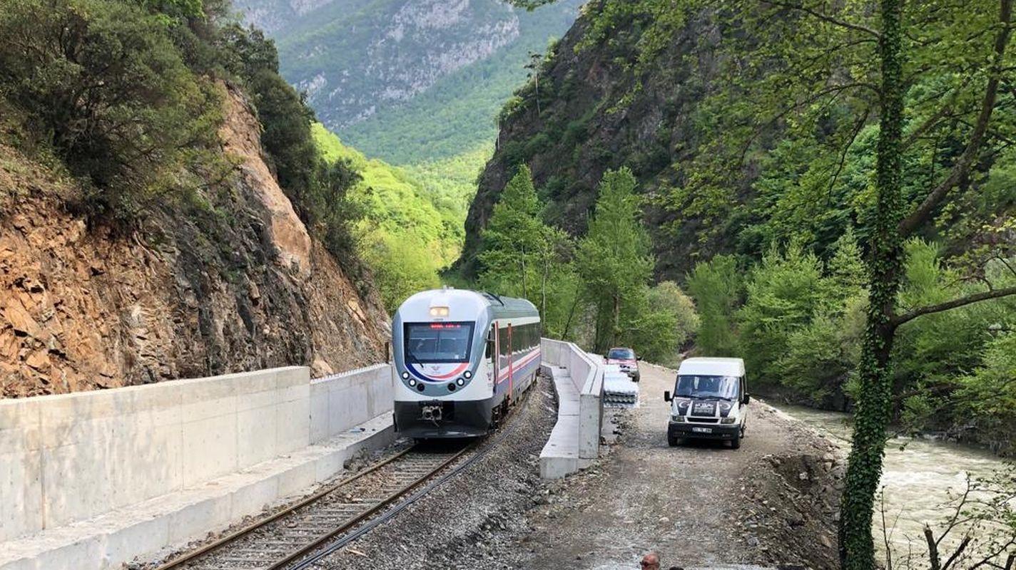 tender announcement arranging the side roads of the upper strike on irmak zonguldak line