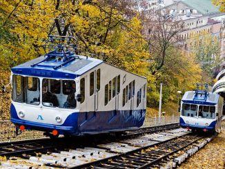 kijowska kolejka linowa zacznie działać ponownie w sierpniu