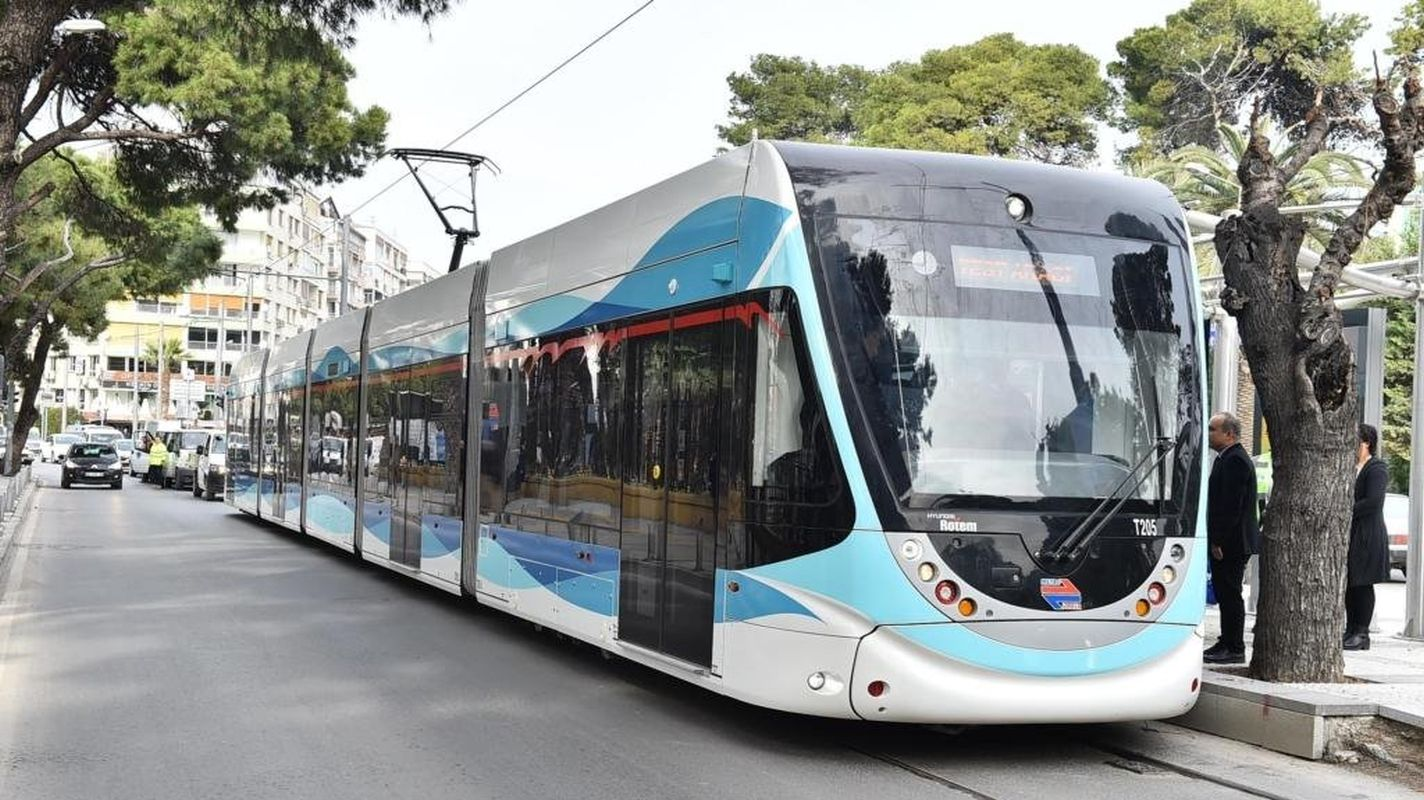 إعلان المناقصة: سيتم شراء عربة الترام (İzmir Metro A.Ş.)