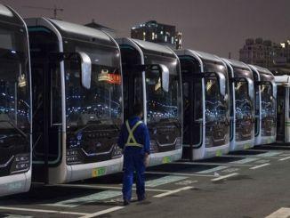 Автобусҳои барқӣ дар Чин 60 фоизи ҳаҷмро ташкил медиҳанд