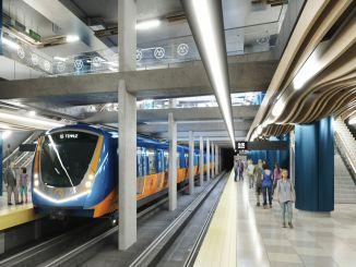 Μετρό Mersin για σύνδεση 4 περιοχών μεταξύ τους