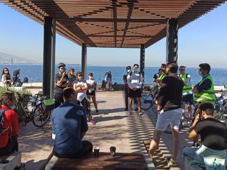 Πραγματοποιήθηκε ένα ταξίδι ποδηλασίας διαδρομής-παράκτια στην εβδομάδα αρχιτεκτονικής