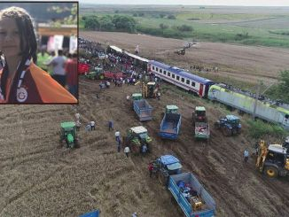 A mensagem de misra selin, que perdeu seu filho no desastre do trem Corlu, foi lida no tbmm.