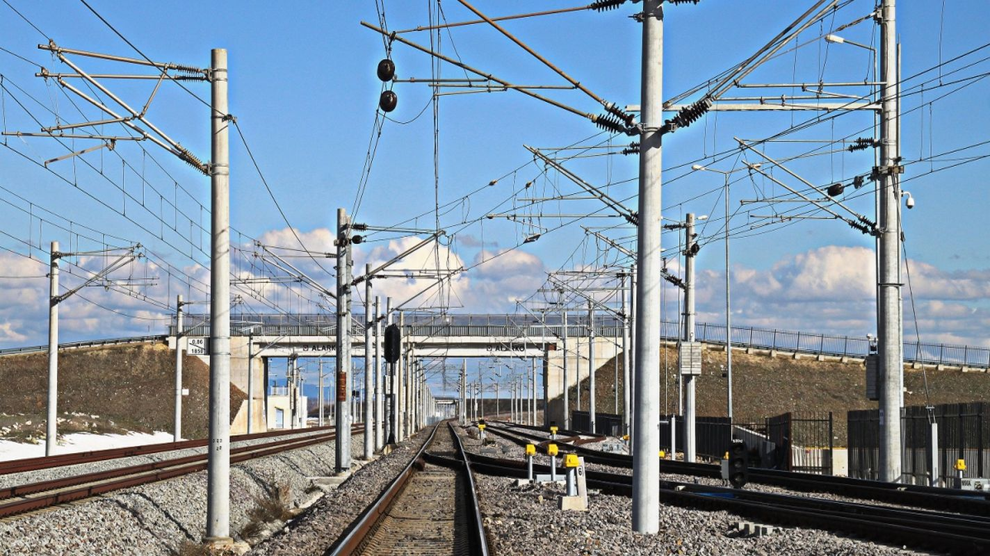 Kauf von Ersatzmaterial für die Elektrifizierung der Eisenbahn