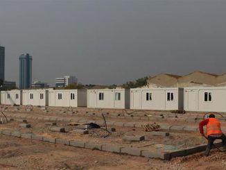 As obras no centro de alojamento temporário de Izmir estão prestes a terminar