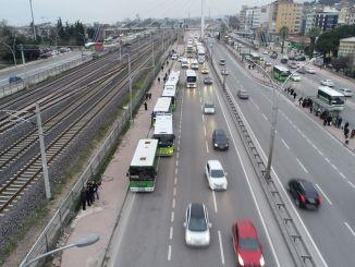 Organização de fim de semana para transporte público em Kocaeli