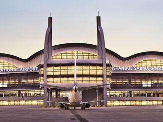 sabiha gokcenin lentokentän dufry-aika alkoi