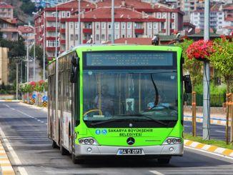 התקופה עם קוד הס בתחבורה הציבורית בסאקריה