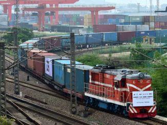 Broj vlakova koji su išli od xinjianga do europe premašio je tisuću