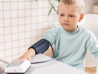 korkean verenpaineen lapsia nähdään myös