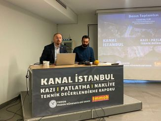channel istanbul's excavation shipping and storage costs as much as the whole budget