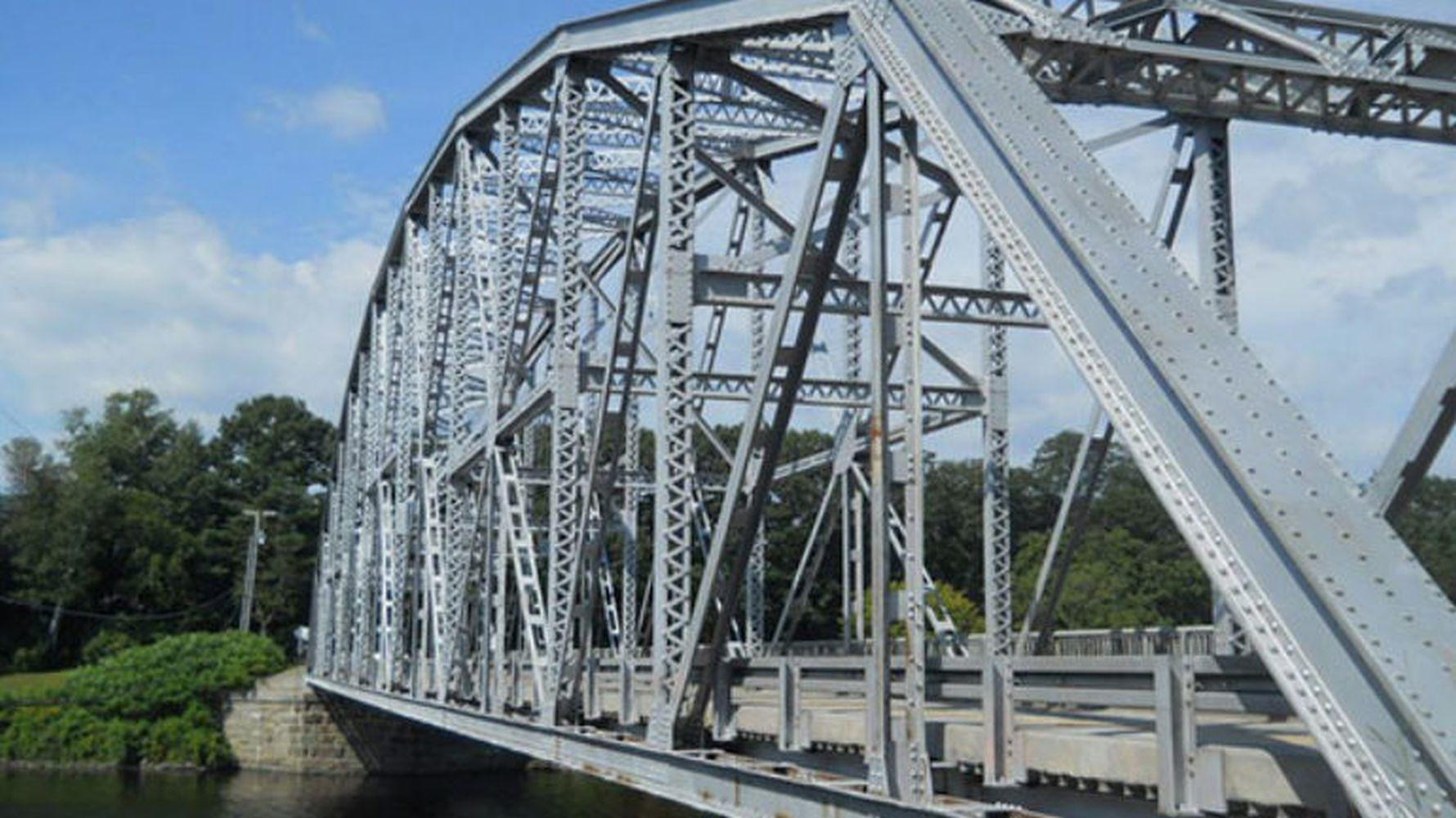Stahlkonstruktion in Brücken