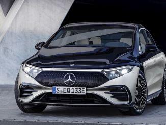 predstavljen prvi električni avtomobil znamke mercedes eq v luksuznem razredu eqs